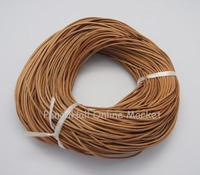 Cowhide Leather Cord Leather Jewelry Cord Peru Size About 2mm In Diameter 100m Bundle