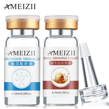 AMEIZII Snail Essence Hyaluronic Acid Serum Face Cream Moisturizing Skin Care Face Care Blackhead Acne Treatment Whitening цены