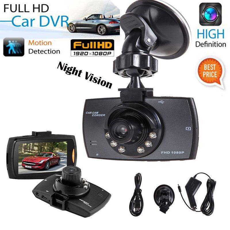 "Gizcam 1080P 2.2"" Full HD DVR Vehicle Camera Dash Cam Video Recorder G sensor Night Vision Auto Car Safety Consumer Camcorders