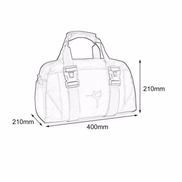 Sport Gym Bag Men Women Waterproof Multifunctional Sport Training Handbag Female Yoga Bag