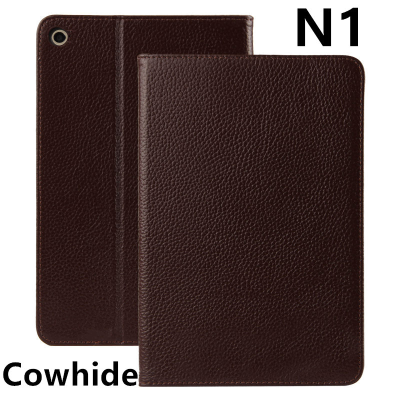 Case Cowhide For Nokia N1 N 1 Protective cover Genuine Leather Tablet PC For NokiaN1 nokia n1s 7.9 inch PU Protector Sleeve Case drop 1 e72 nokia e72