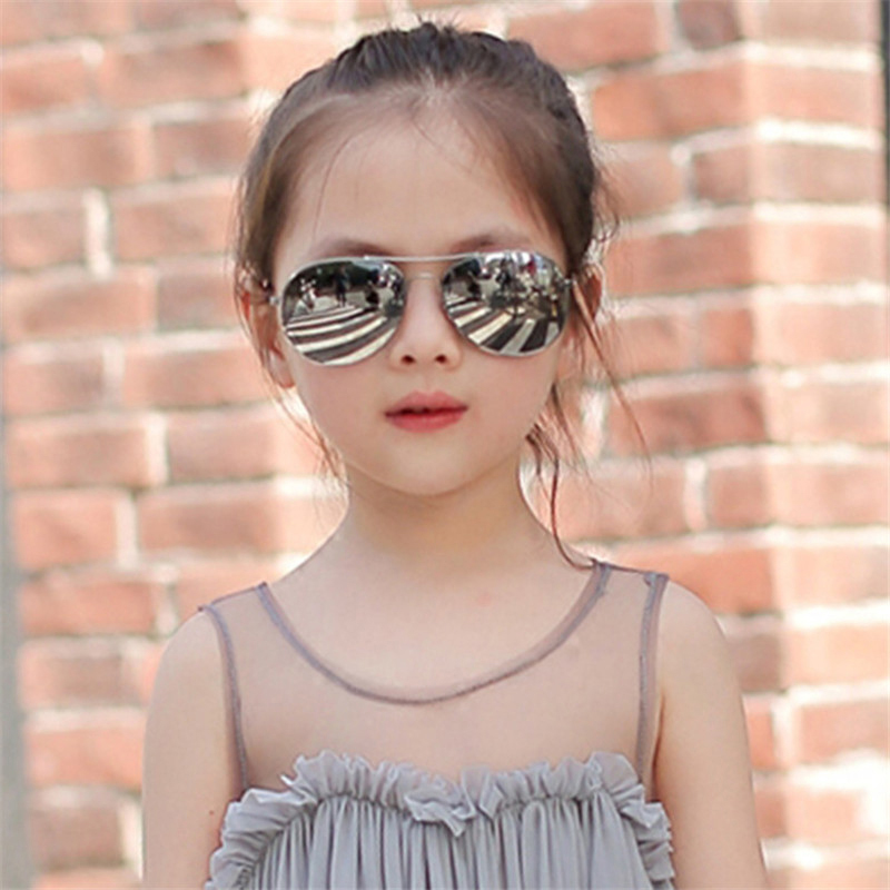 Boys Girls Retro Fashion Aviation Sunglasses Kids Goggles Students Pilot Sun Glasses Party Eyewear Outdoor Eye Glasses UV400