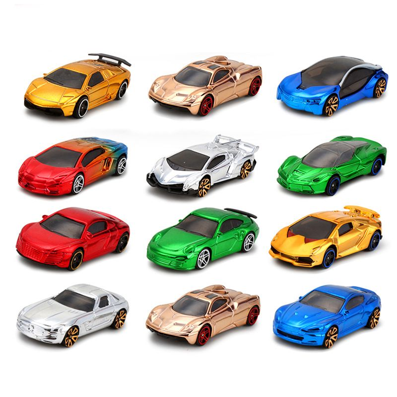 164 metal car models diecast nascar bugatti model toys cars christmas present for kids