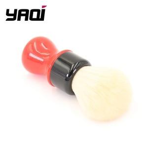 Image 4 - Yaqi 24mm פרארי מורכב מחוספס שחור גרסה באיכות הטובה ביותר קשמיר סינטטי שיער גילוח מברשות