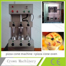 Free Shipping 110V/220V Snack Food Pizza Cone Making Machine+Pizza Cone Roaster