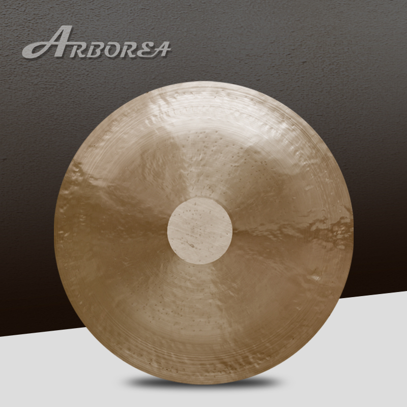 Arborea 22'' wind gong with free mallet Chinese traditional gong chic love hearts pattern wall sticker for bedroom livingroom decoration