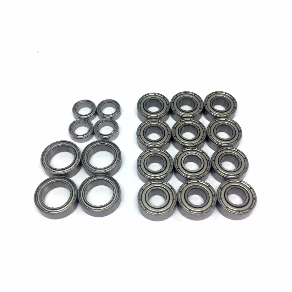 20pcs 1/10 RC CAR Tamiya TT01 TT-01 Complete  Ball Bearing Kit Kugellager TT 01