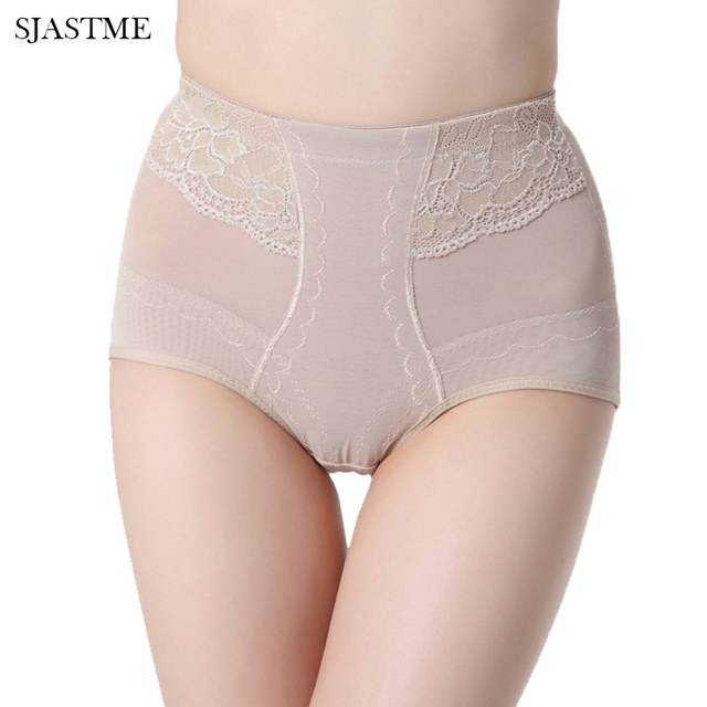 b34b6df046599 SJASTME Shapewear Slimming Underwear Body Shaper Corset Hip Control Pants  for Women Invisible Waist Trainer Corrective Panties