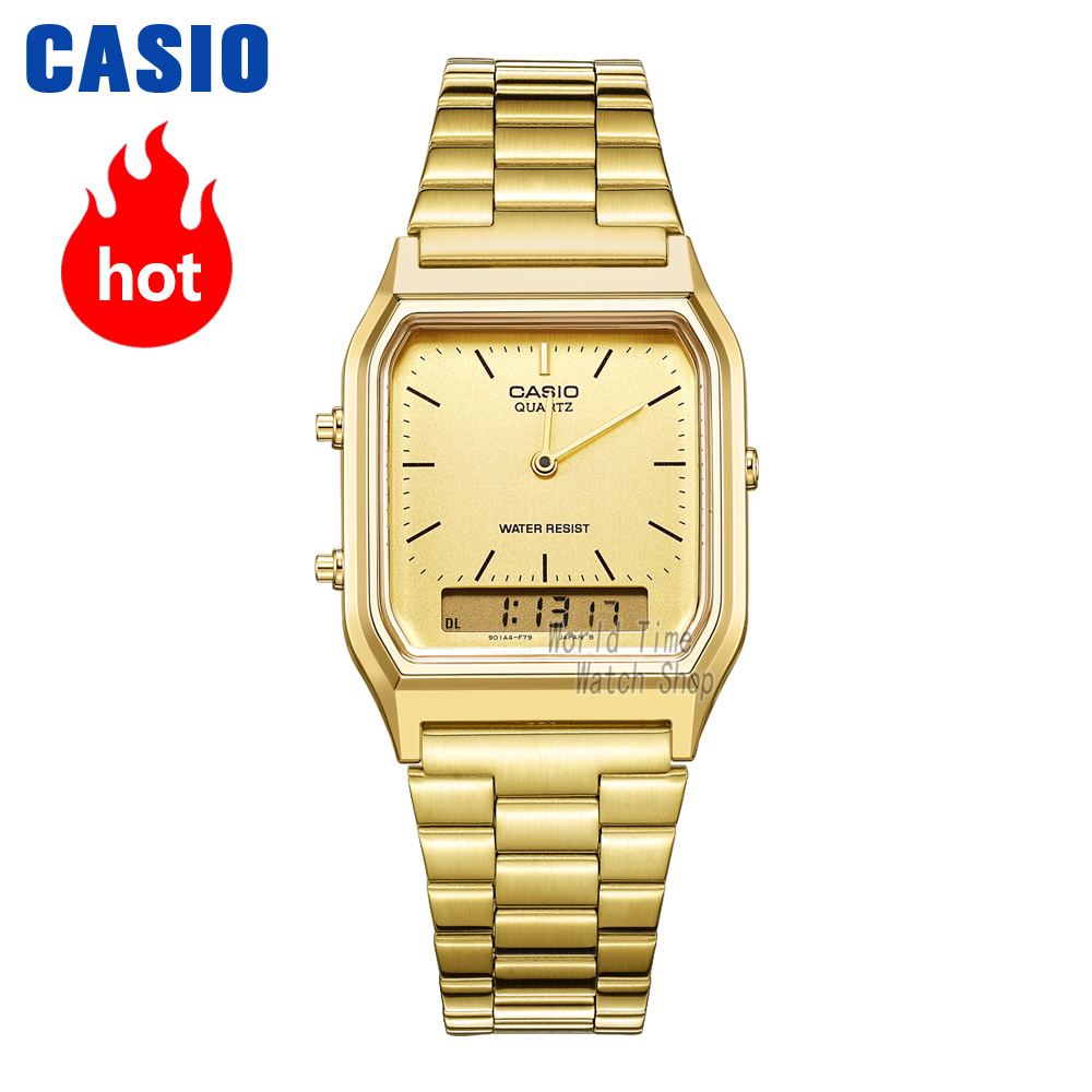 Casio watch gold watch men top brand luxury Dual display Waterproof Quartz men watch Sport military WristWatch relogio masculino analog watch