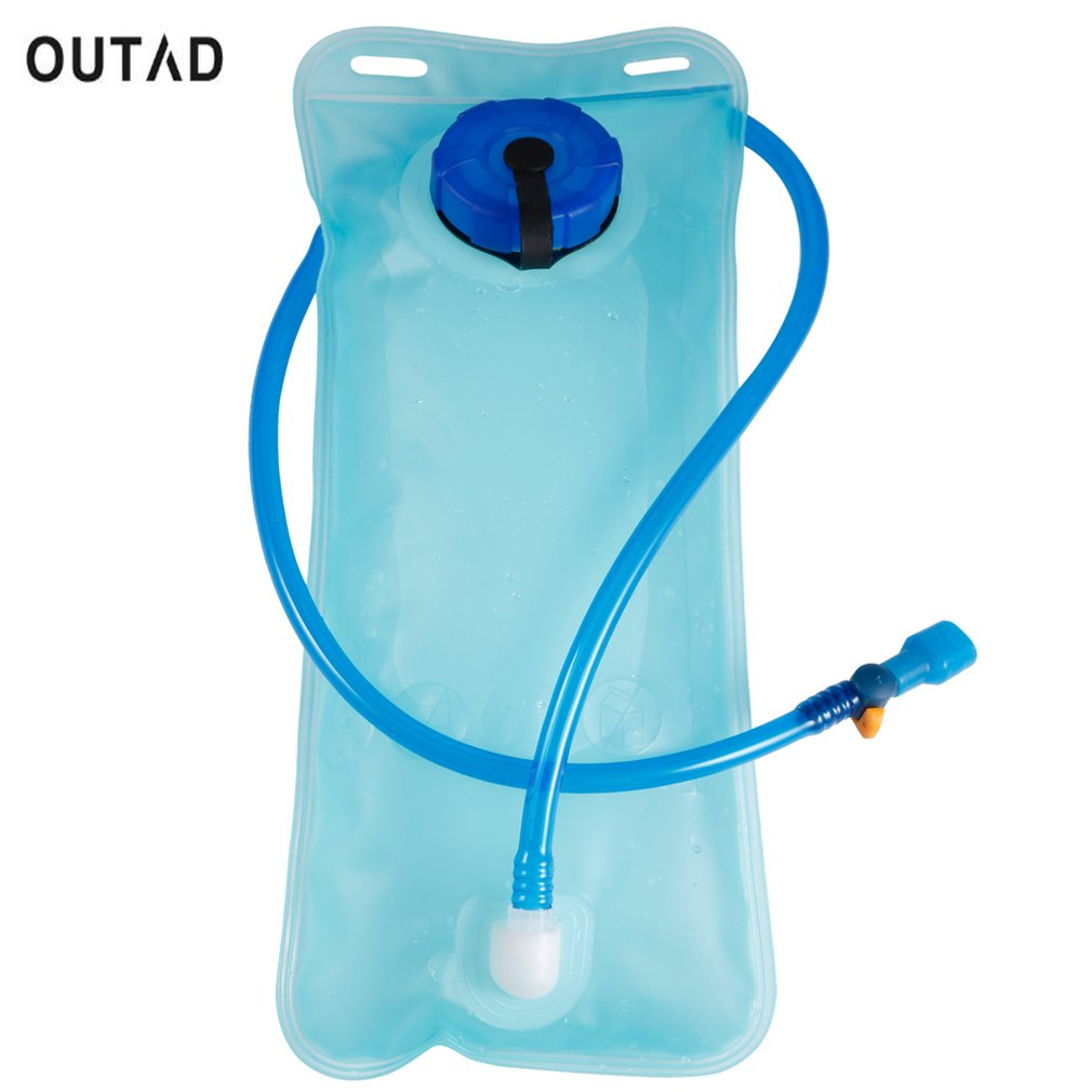 2L Portable Water Bladder Bag Bike Bicycle Cycling Camel Water Bag Hydration Bladder Backpacks Camping Hiking Sports Water Bag