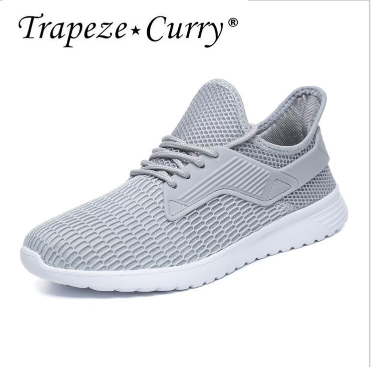 New listing hot sale brand summer Mesh fly weave Breathable men running sneakers B18060