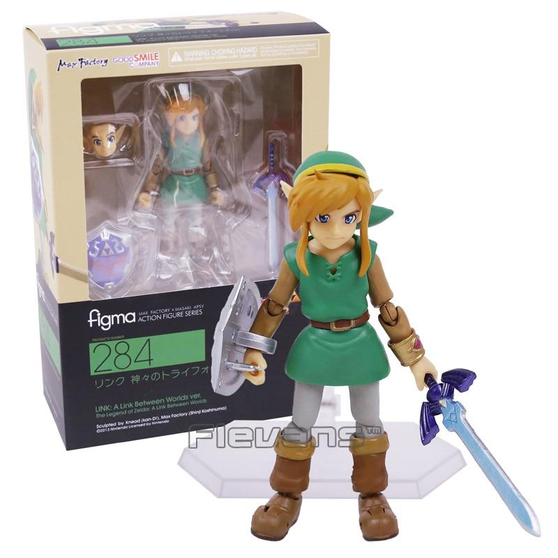 The Legend of Zelda A Link Between Worlds Link Figure Figma EX-032 Toy in Box