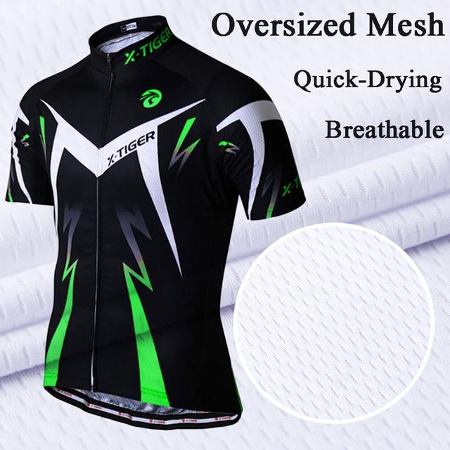 X-tiger pro conjunto de camisa de ciclismo verão ciclismo wear mountain bike roupas de bicicleta mtb ciclismo roupas de ciclismo terno 5