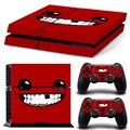Super meat boy Новая Кожа для PS4 наклейки для Playstation 4 наклейки этикеты винила защитная Бесплатная Доставка