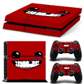 super meat boy New Skin for PS4 stickers for Playstation 4 stickers of vinyl decal protective Free Shipping