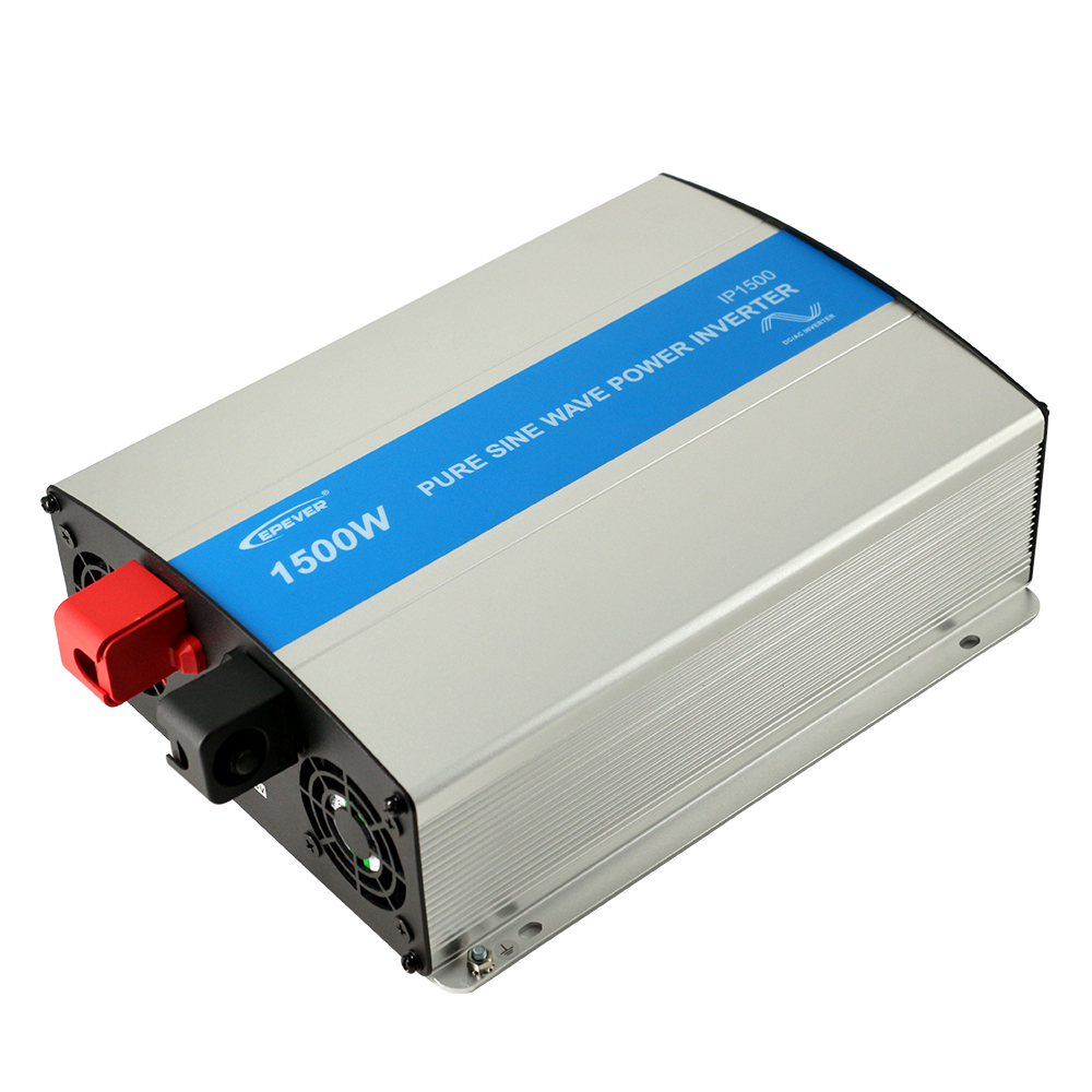 EPever 1500W Pure Sine Wave Inverter 12V/24V Input 110VAC 120VAC 220VAC 230VAC Output 50HZ 60HZ High Efficiency Converter IPower