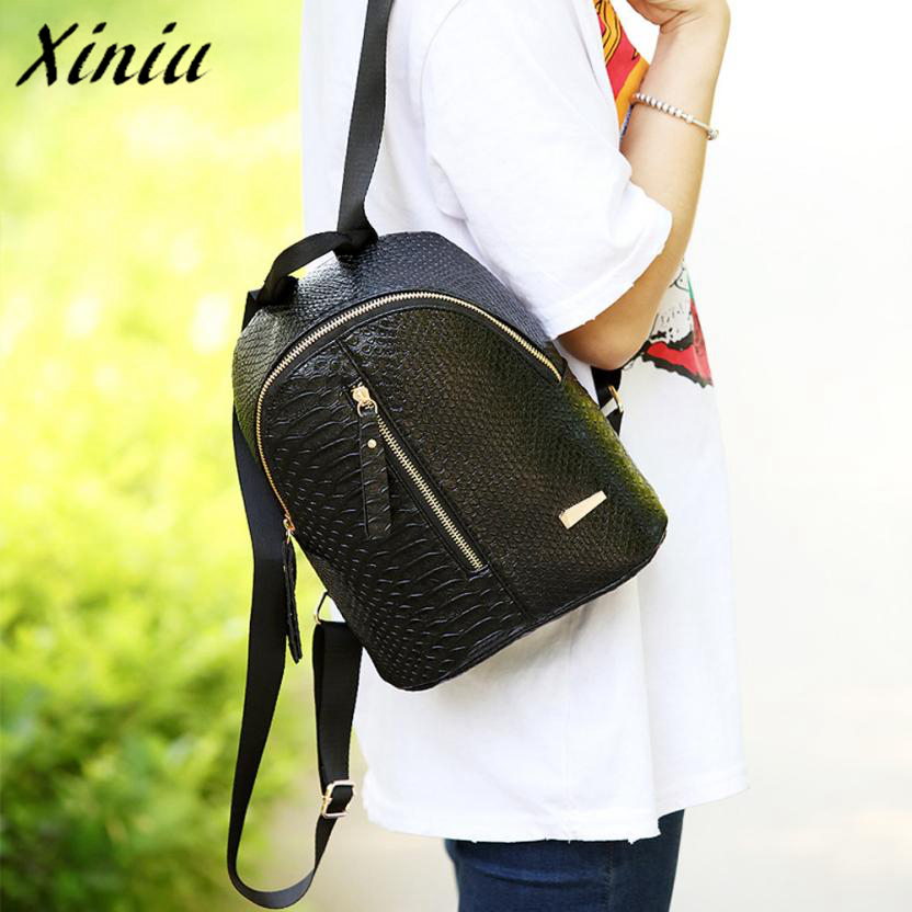 XINIU 2018 Women Leather Backpack children backpack mini backpack women cute back pack backpacks for teenage Sac A Dos A0708 leftside 2017 women leather backpack children backpack mini backpack women cute back pack backpacks for teenage girls small bag
