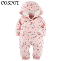 COSPOT 2018 Limited Sale Infant Bebes Hooded Jumpsuit Fashion Long Sleeved Spring Fleece Baby Girls Baby