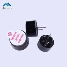 20pcs 3V Active Buzzer Alarm Speaker Electromagnetic SOT Continuous Beep Plastic Pipe Tube Long Sound Remove