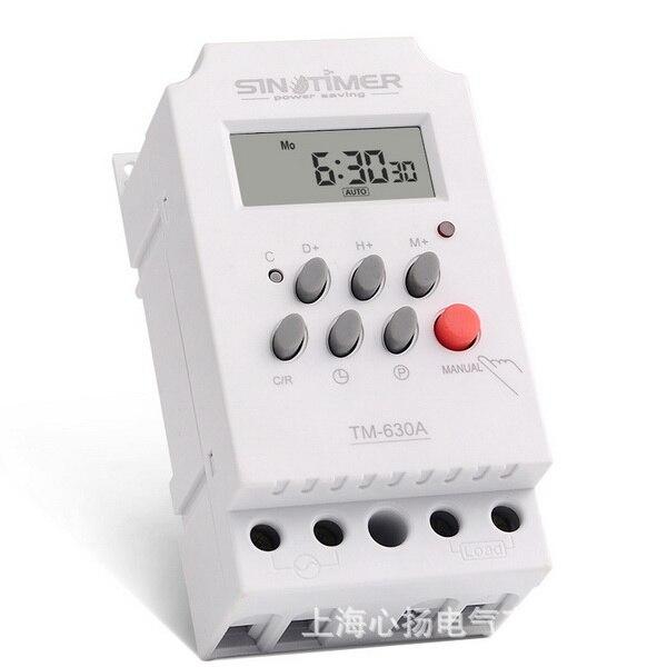 Praktisch Dhl 20 Stücke 12 V Dc Eingang 7 Tage Programmierbare 24hrs Mini Timer Schalter Zeit Relais Ausgang Last Hoher Leistung 30a PüNktliches Timing Messung Und Analyse Instrumente