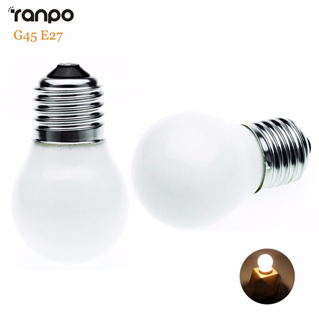 Mini LED Light Bulb E27 3W G45 AC 220V Energy Saving Lamp ...