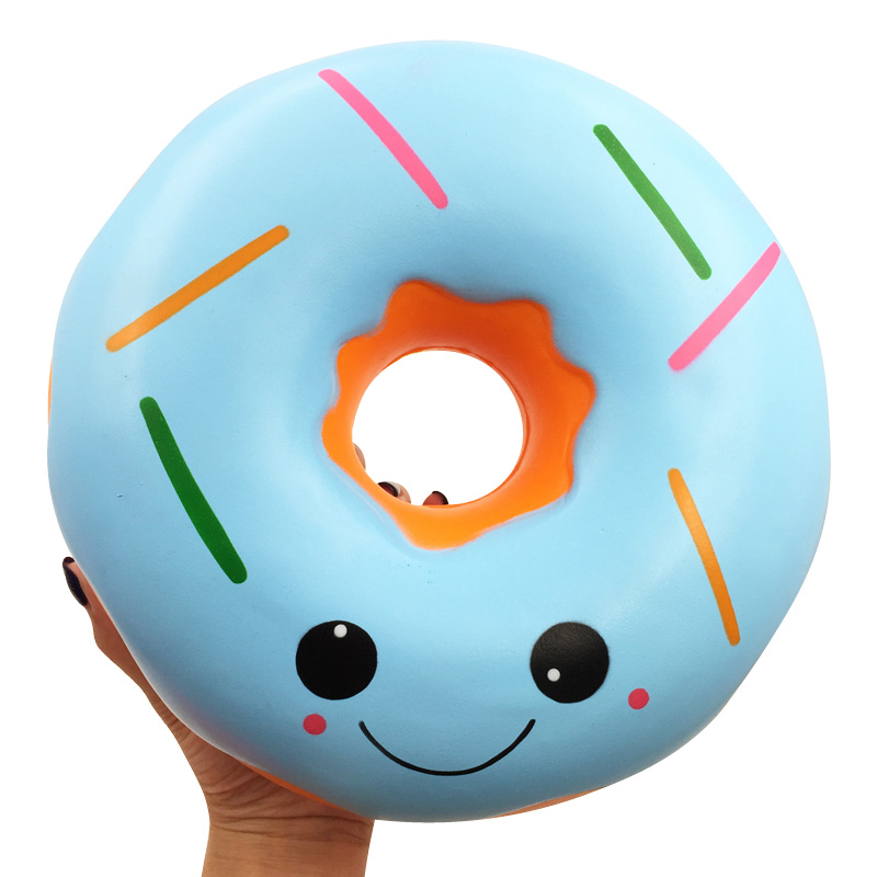 Super Giant Squishy 25cm Donut Cute Slow Rising Squishies Scented Stress Relief Toys For Children Toys