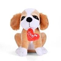 Gloveleya جرو لعبة القطيفة الكلب الكلب حيوانات محشوة دمية طفل جدي الأصدقاء أفضل هدايا عيد الميلاد 10'