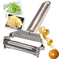 Kitchen Accessories Cooking Tools Multifunction Stainless Steel Julienne Peeler Vegetable Peeler Double Planing Grater R10