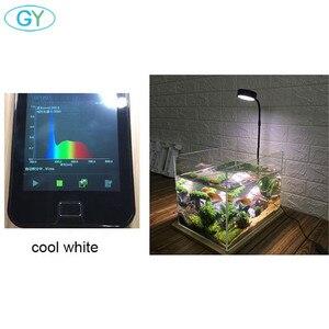 Image 5 - 5W USB Cổ Ngỗng Led Vật Có Phong Cảnh Đèn Đen Bạc Đèn LED Bể Cá Ánh Sáng 6000K Thủy Sinh Vật Có Đèn Sinh Thái chai Đèn
