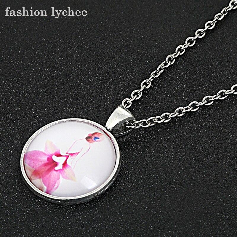fashion lychee Flower Rose Violet Wedding Dress Cabochon
