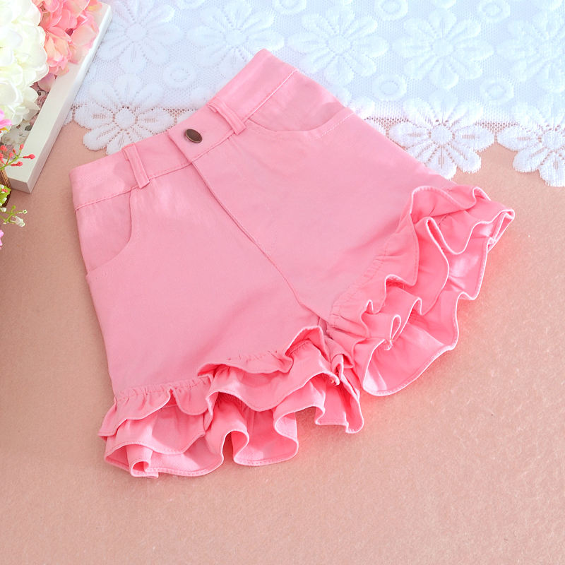 Sweet Women Shorts Solid Sexy Ruffles Casual Plus Size Lady Elegant Shorts Beach Style Cute Girls Shorts Top Quality