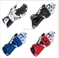 7 Colors New GP PRO Motorcycle Gloves Real Leather Road Racing Glove Black White Red Moto Guantes