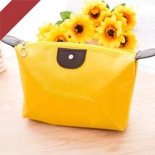 HHYUKIMI Brand Women Zipper Waterproof Cosmetic Bag Travel Portable Make Up Bag Gift High Quality Toiletry Wash Organizer Case