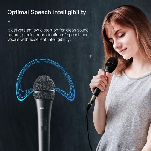 Dynamic speaker microphone Karaoke vocal microphone