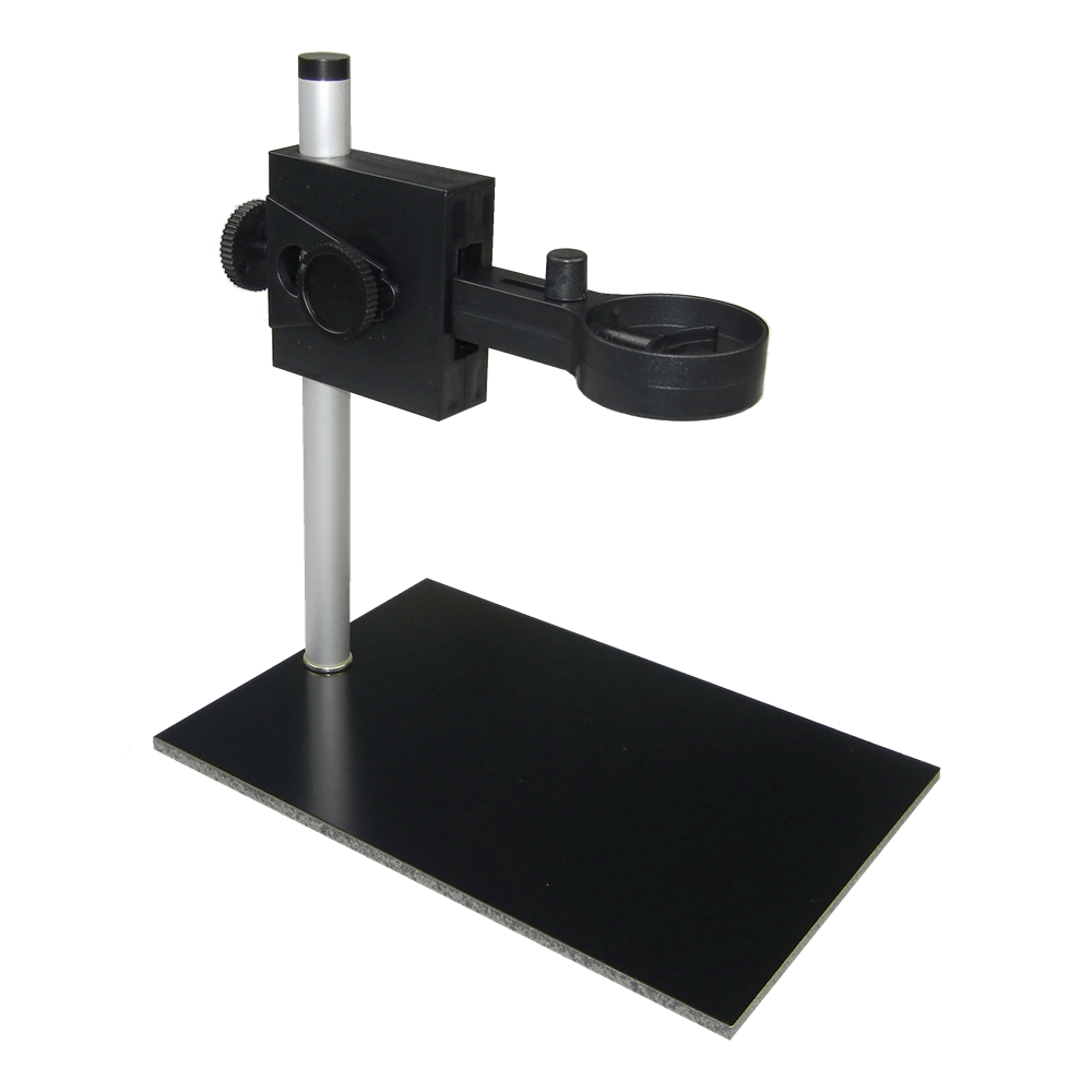 Microscope Metal Stand with Black Pad Aluminum Stands and Metal Screw for Different Types of Digital Microscope LiftingMicroscope Metal Stand with Black Pad Aluminum Stands and Metal Screw for Different Types of Digital Microscope Lifting