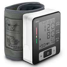 Digital Wrist  Blood Pressure Monitor Electric Automatic LCD Oscillography Sphygmomanometer Heart Beat Arrhythmi Measuring Meter недорого