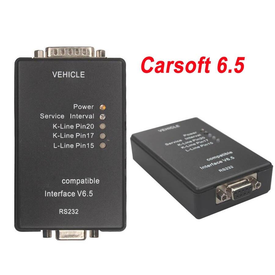 2019 Hot Vender Carsoft 6.5 Para BMW Programador ECU Carsoft Interface V6.5 por RS232 para MCU--E30/E31/E32 /E34/E36/E38/E39/E60/E65