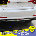1 шт./компл.  автомобильный Стайлинг  задний бампер  нижний диффузор  противотуманная фара  накладка  подходит для Hyundai Sonata LF 2015 2016  накладка на...