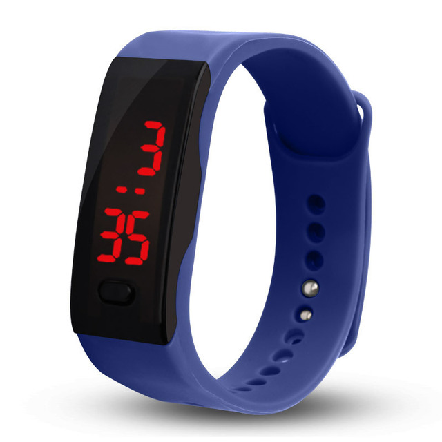 Children Watch Led Sports Kids Watch Men Women Silicone Electronic Digital Clock