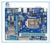 Gigabyte оригинальный Бесплатная доставка материнская плата GA-H61M-S1 H61M-S1 DDR3 LGA1155 твердотельного интегрированный Бесплатная доставка