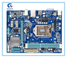 Gigabyte original Free shipping motherboard  GA-H61M-S1 H61M-S1 DDR3 LGA1155   Solid-state integrated free shipping