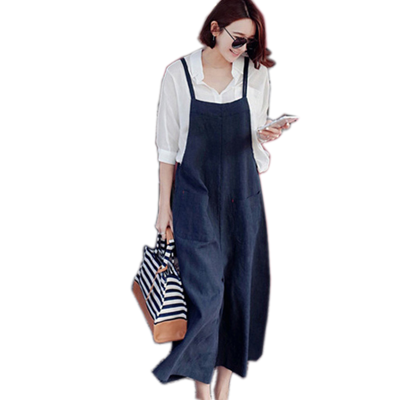 Summer Style Loose Casual Wide Leg   Pants     Capris   Feminina Fashion Solid Moveable Strap Trousers For Women Classical   Pants