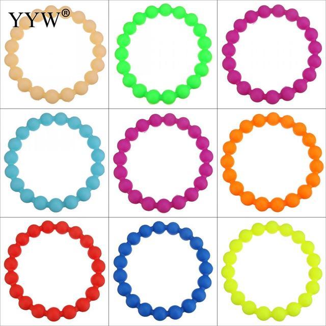 New Design Men Women Silicone Black And Mix Color Band Wristband Bracelets Charm Bracelet Bands