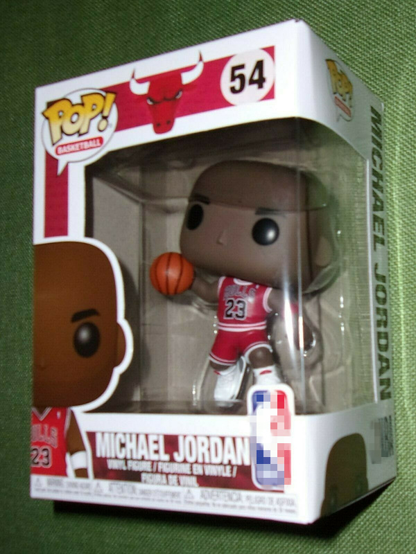 Official Funko pop Sports: Basketball Player Super Star Jordan Vinyl Action Figure Collectible Model Toy with Original Box