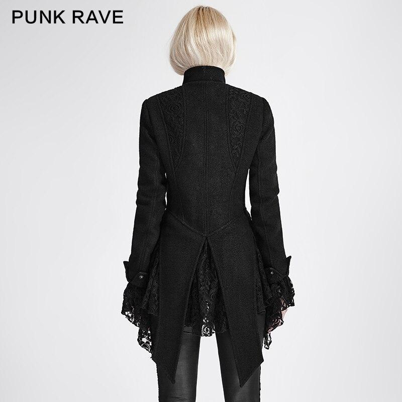 Rave Punk Manteau Style Manteaux Nouveau 682 Laine Y Femelle Femmes Hiver Gothique 2017 fREwtyBgqw