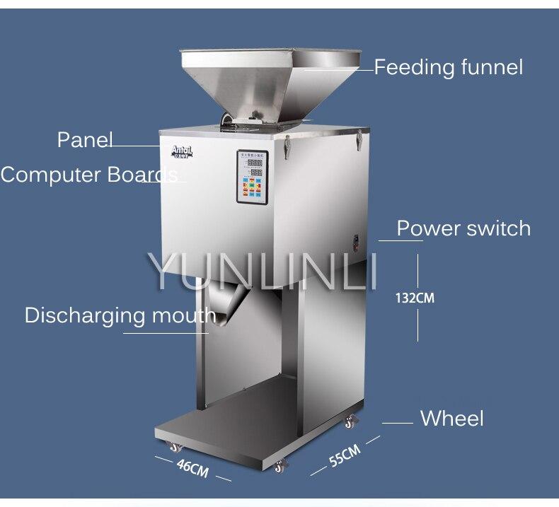 ATL-1000 typu granulowany w proszku maszyny do napełniania herbata automatyczna maszyna do napełniania ilościowego różne ziarna nakrętka maszyny do napełniania maszyny do napełniania