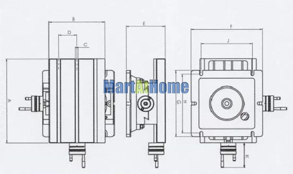 225*175 мм Вращающийся сверлильный фрезерный станок с перекрестными слайдами Рабочий стол XY с линейкой XY путешествия 105x90 мм
