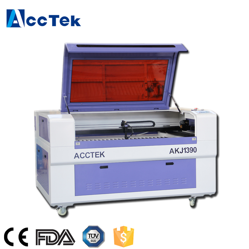 Hot sale 1300*900mm CO2 laser cutting machine / 1390 laser cutter for wood acrylic fabric mdf etc nonmetal
