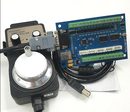 Sculpture machine CNC Carte De Commande De Mouvement 5-axe carte d'interface MACH3 carte d'interface USB carte d'interface avec volant