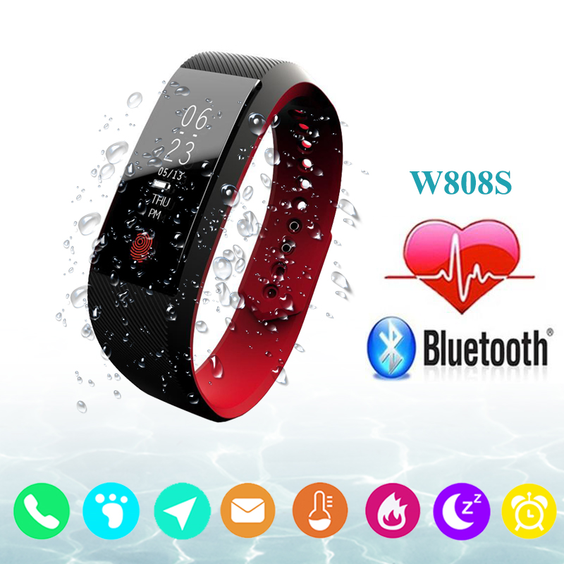 Smart Band Fitness Bracelet Fit Bit Heart Rate Monitor Waterproof IP67 Sport Pedometer Wristband Smartband Watch for Android IOS